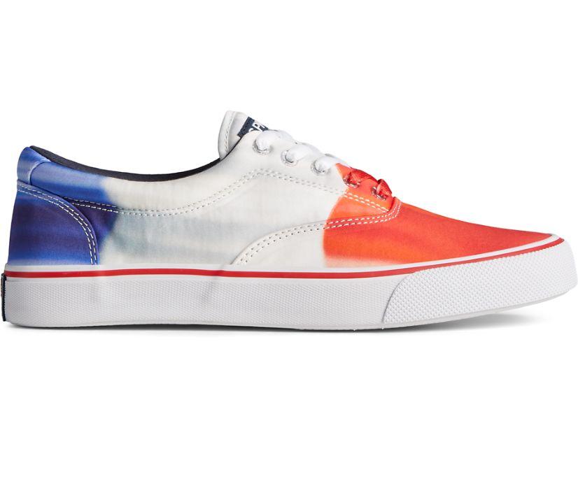 Sperry x Popsicle® Firecracker® Striper II CVO Sneaker, White Multi, dynamic