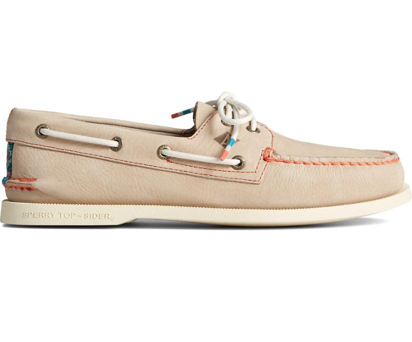 Authentic Original Playa Boat Shoe, Taupe, dynamic