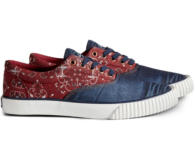 Cloud CVO Bandana Sneaker, Blue/Red, dynamic