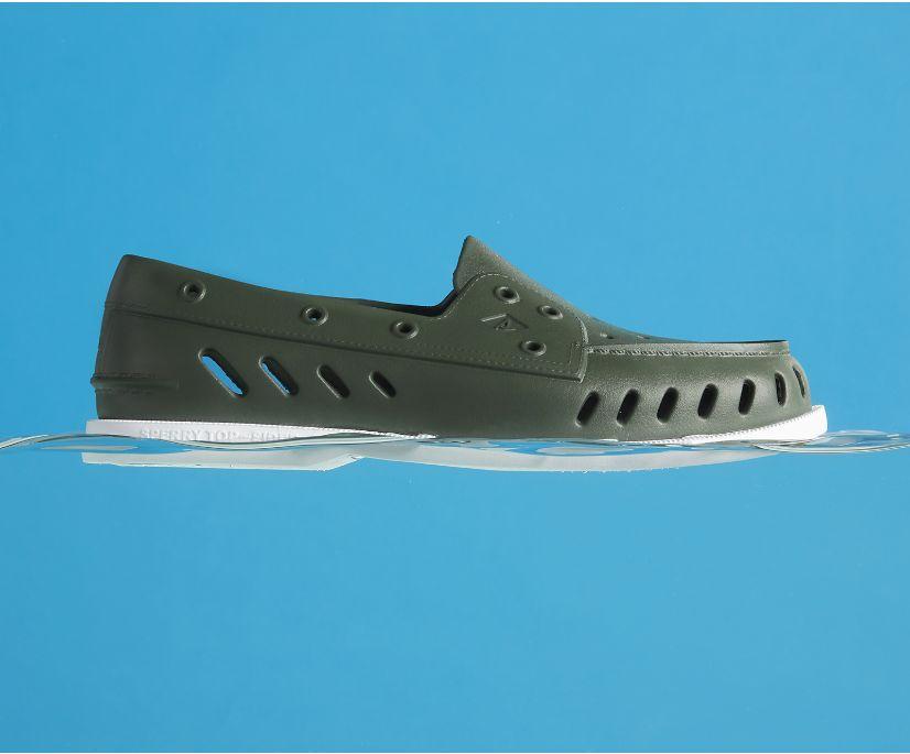 Authentic Original Float Boat Shoe, Green, dynamic