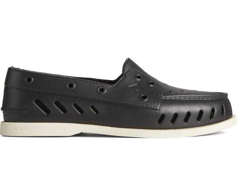 Authentic Original Float Cozy Boat Shoe, Black, dynamic