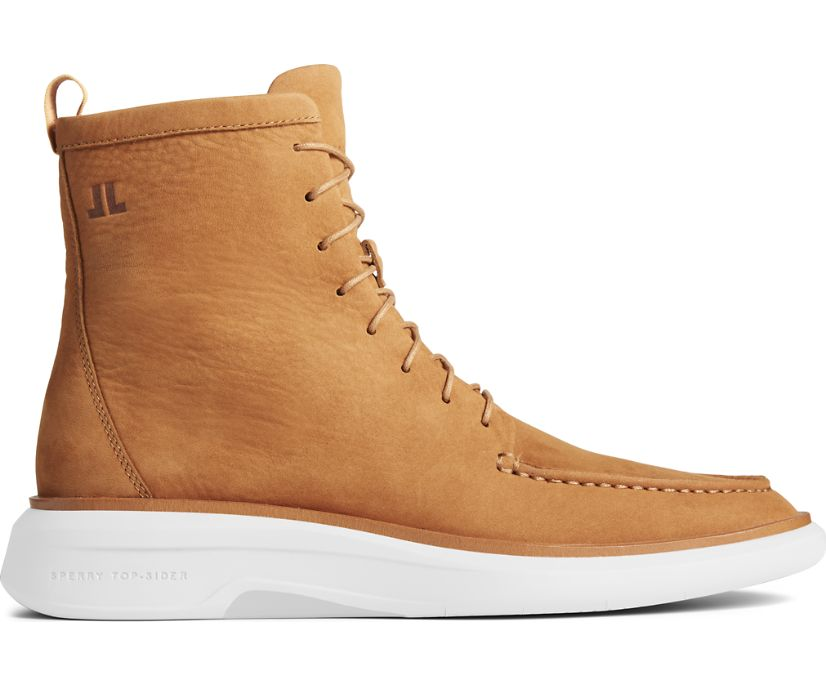 Sperry x John Legend Commodore PLUSHWAVE Boot, Rust, dynamic