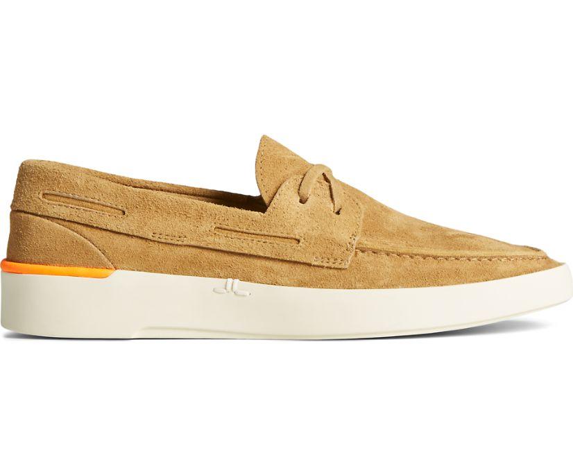 Sperry x John Legend Signature PLUSHWAVE Boat Shoe, Sand, dynamic