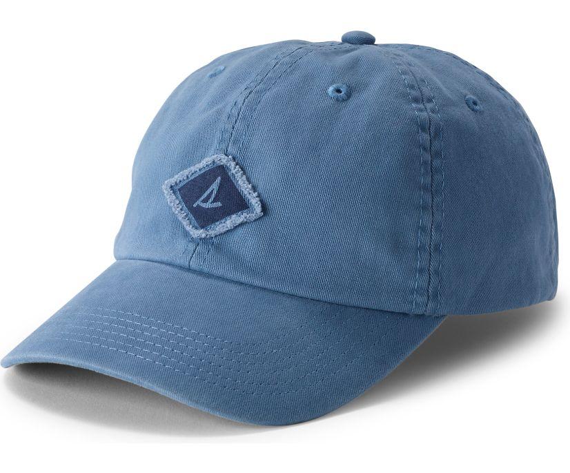 Canvas Burgee Hat, Blue, dynamic