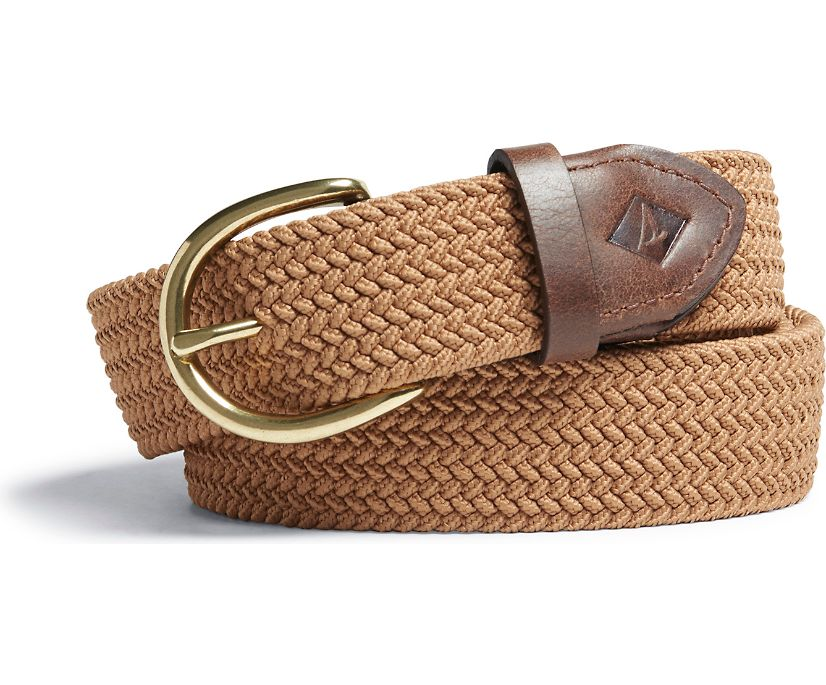 Webbing Belt, Khaki, dynamic