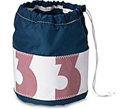 Sea Bags Ditty Color Block Pouch, Navy, dynamic