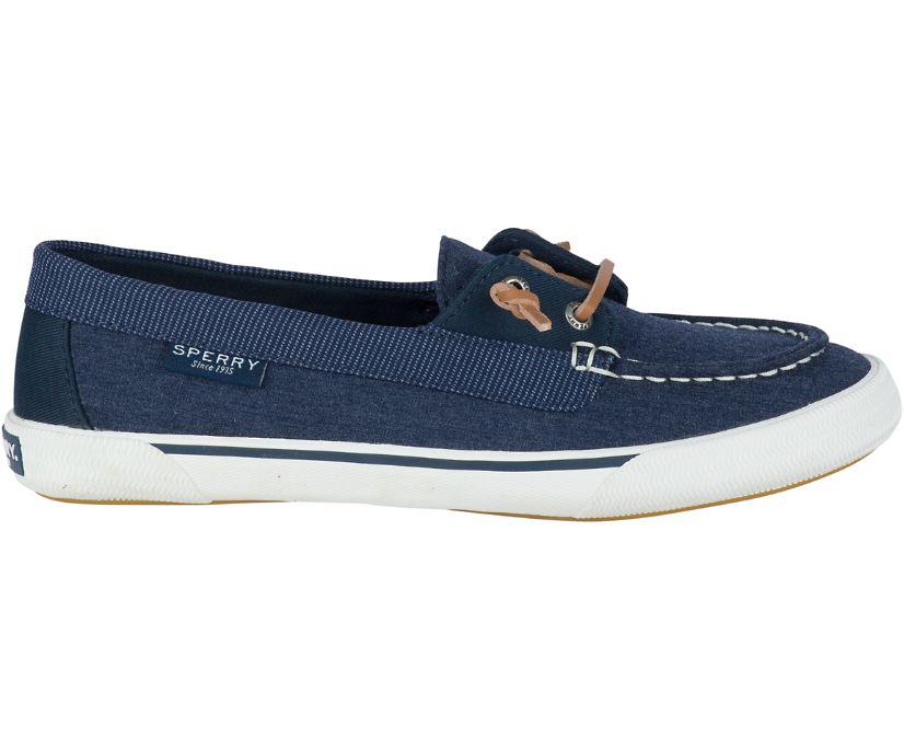 Lounge Away Sneaker, Navy, dynamic