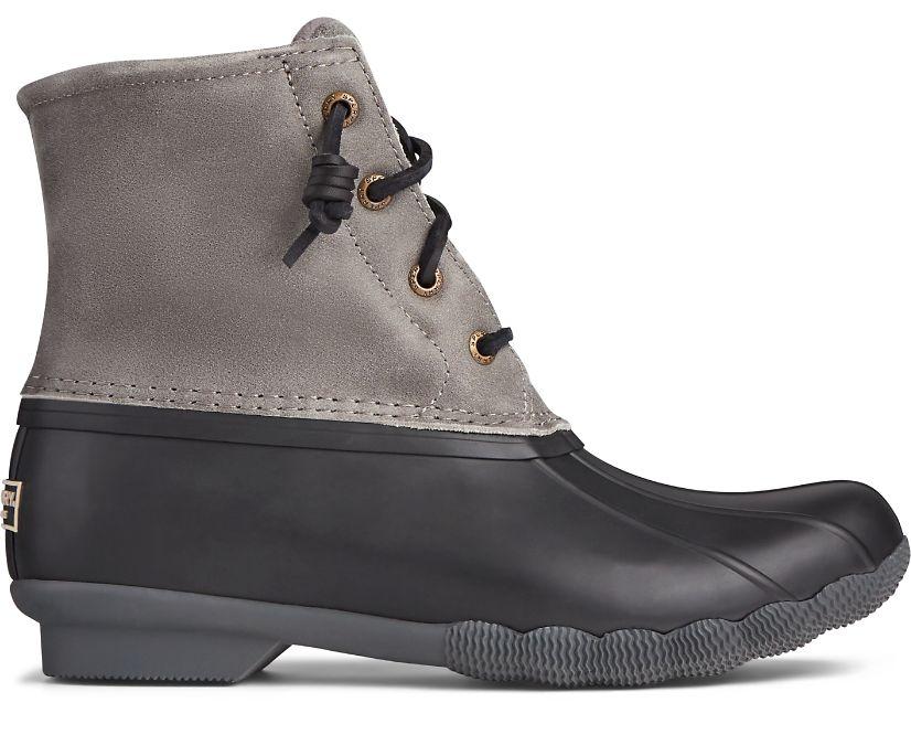 Saltwater Duck Boot, Grey, dynamic
