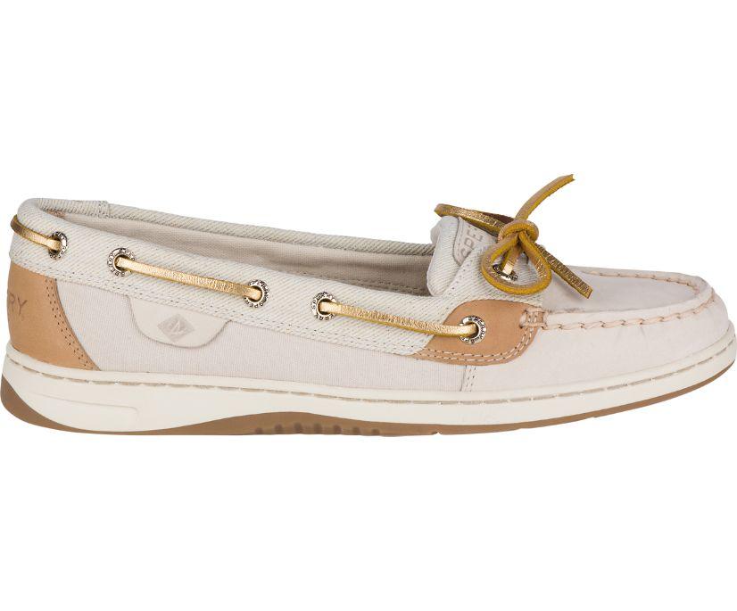 Angelfish Sparkle Boat Shoe, Oat Sparkle, dynamic