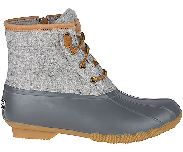 Women's Saltwater Wool Embossed Duck Boot w/ Thinsulate™