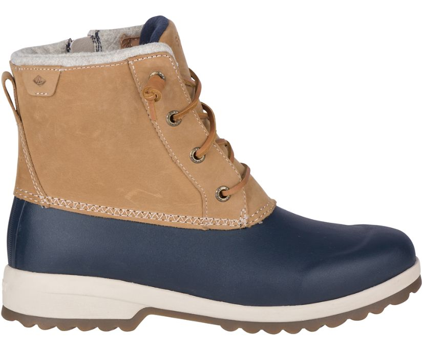 Maritime Repel Snow Boot w/ Thinsulate™, Tan/Navy, dynamic