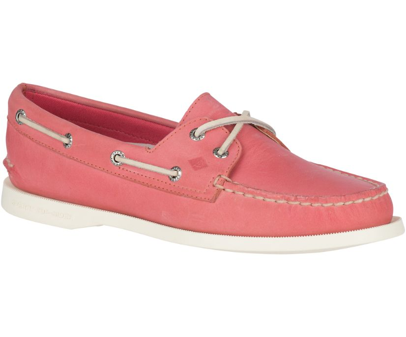 Authentic Original Boat Shoe, Washed Red, dynamic