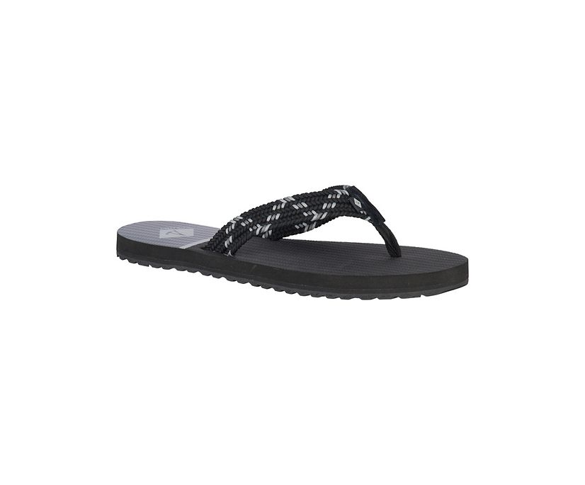 Lounge Wharf Flip Flop, Black/Grey, dynamic