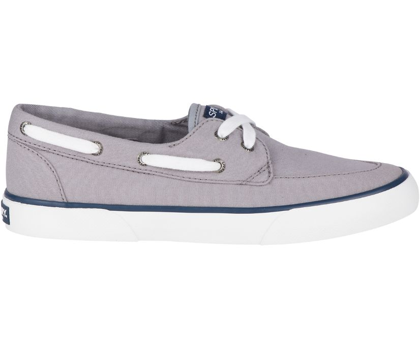 Pier Boat Shoe, Grey, dynamic