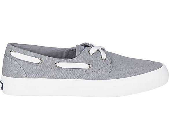 Crest Boat Shoe, Grey, dynamic