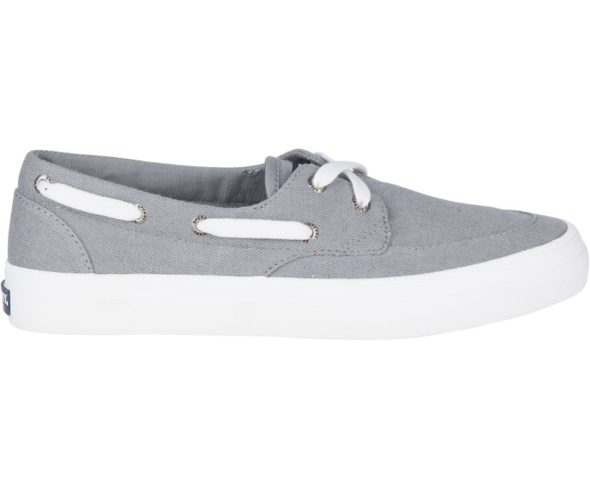 Crest Boat Shoe, Grey, dynamic