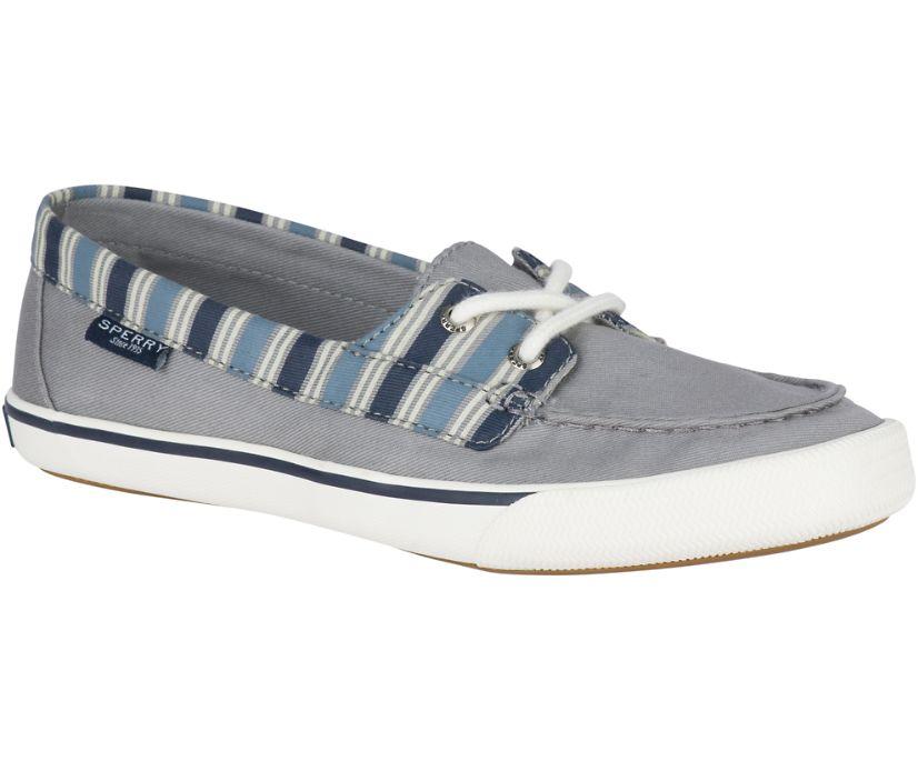 Lounge Away Stripe Sneaker, Grey/Blue, dynamic