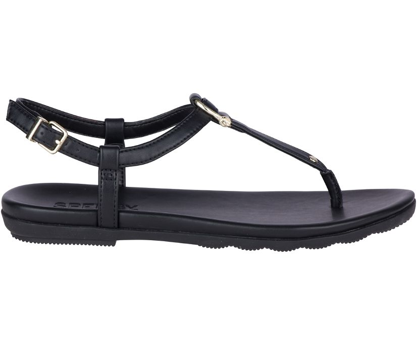 Saltwater Sandal, Black, dynamic