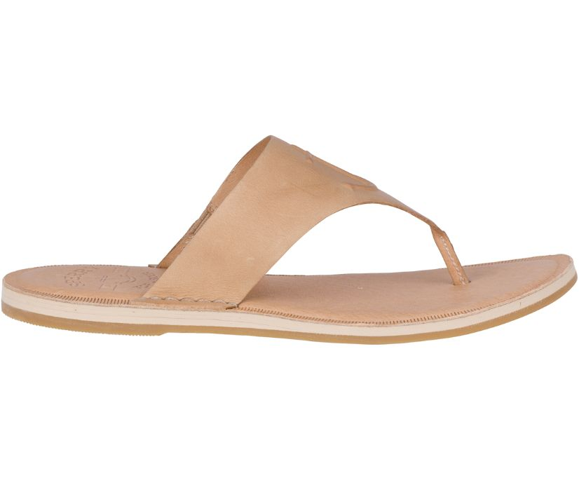 Seaport Leather Sandal, Tan, dynamic