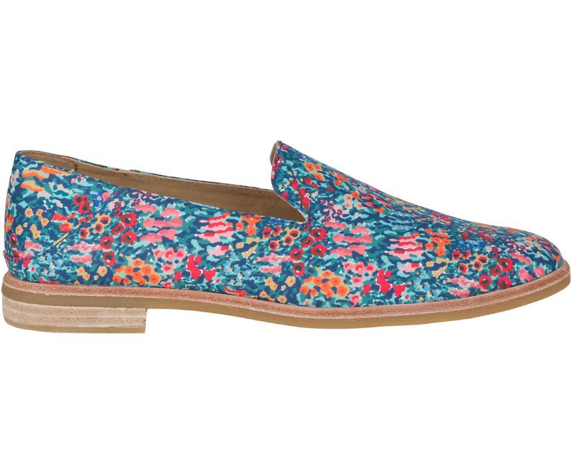 Seaport Levy Liberty Print Loafer, Blue Multi, dynamic