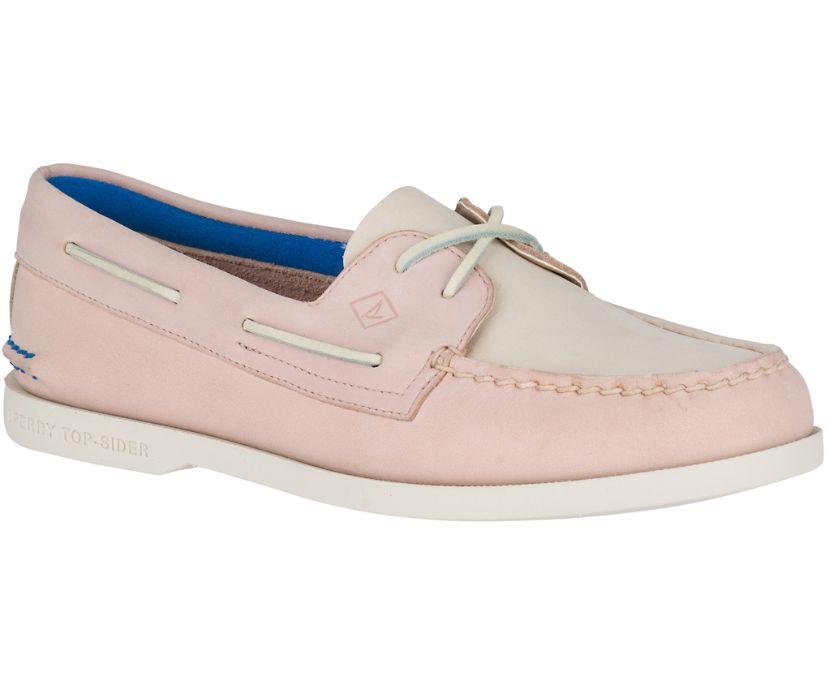 Authentic Original Plush Boat Shoe, Blush, dynamic