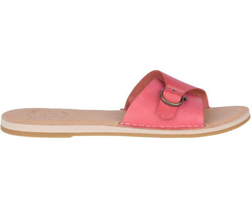 Seaport Slide Sandal, Nantucket Red, dynamic