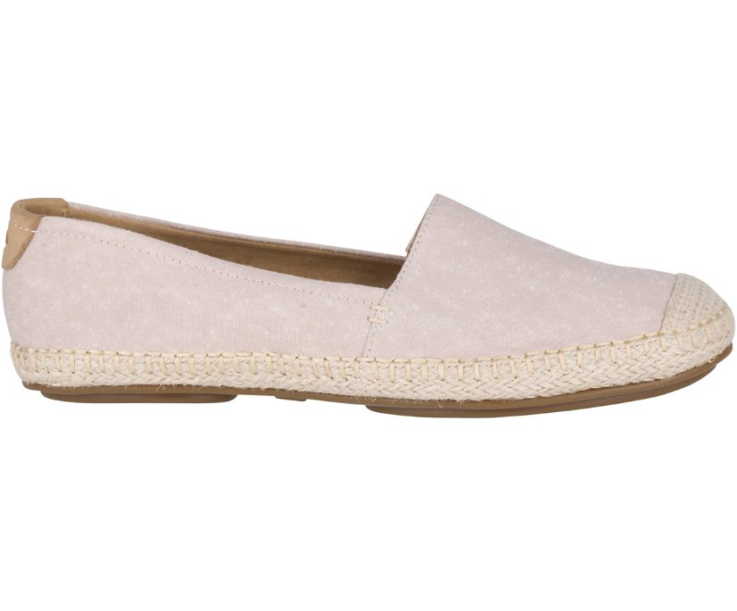 Sunset Skimmer Espadrille, Rose, dynamic