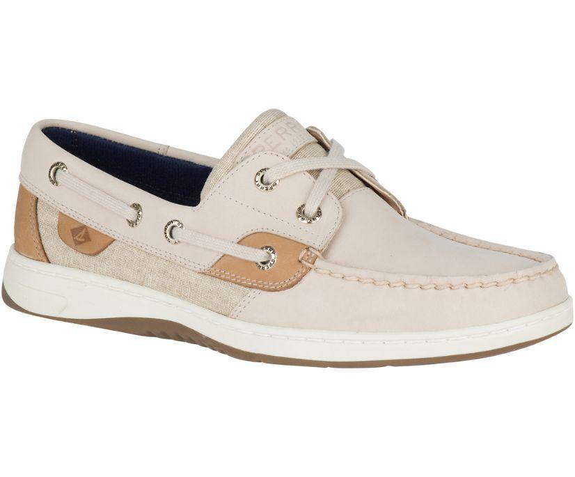 Bluefish Linen Boat Shoe, Oat, dynamic