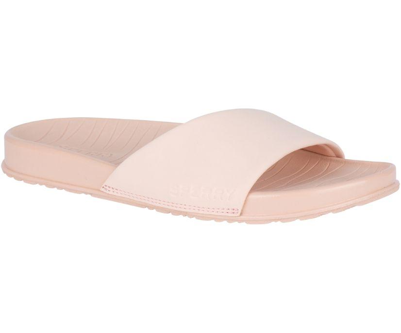 Shell Slide Sandal, Rose, dynamic