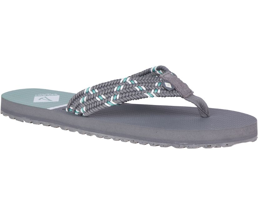 Lounge Wharf Flip Flop, Grey, dynamic
