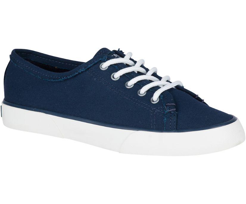 Pier Fray Sneaker, Navy, dynamic