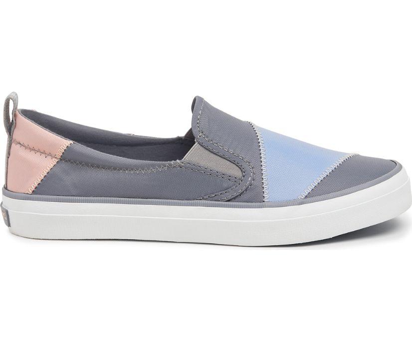Crest Twin Gore BIONIC® Sneaker, Grey/Light Blue/Pink, dynamic