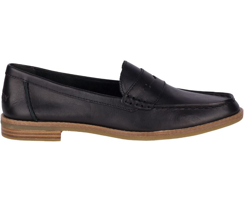 Seaport Penny Loafer, Black, dynamic