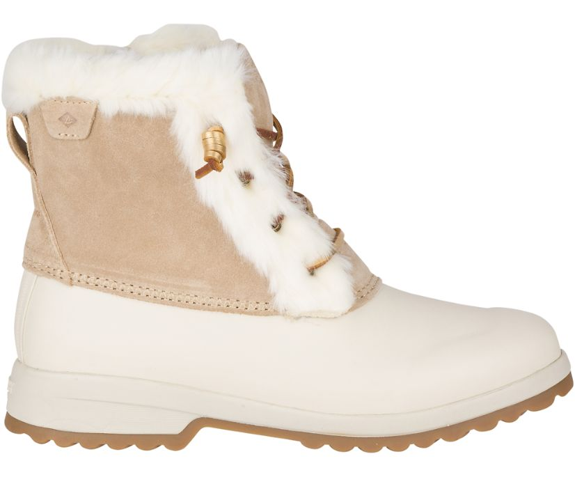 Maritime Repel Suede Snow Boot, Sand, dynamic
