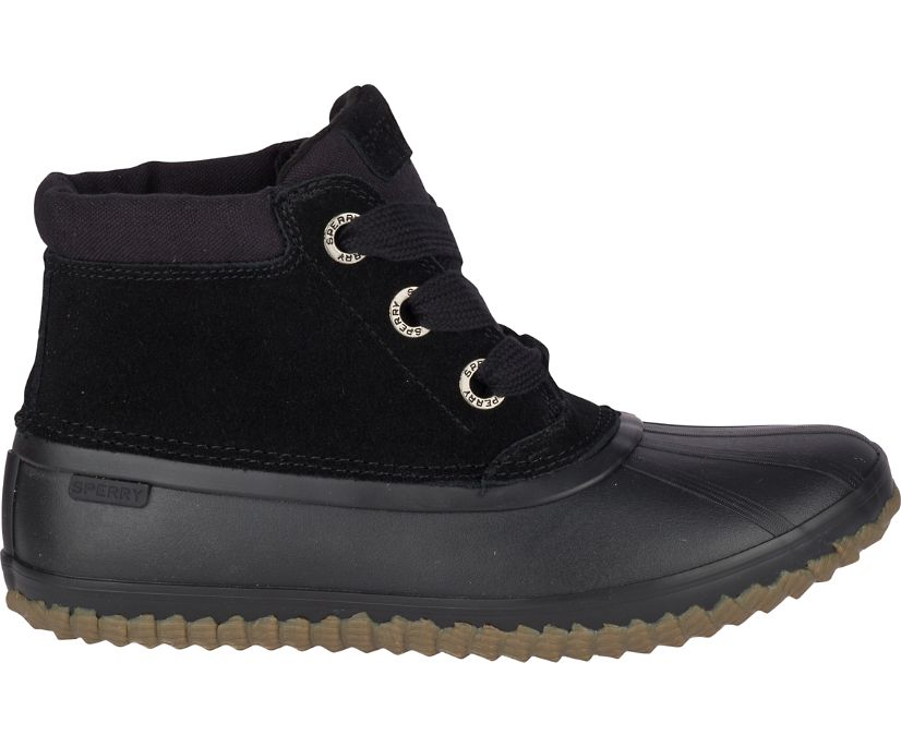 Breakwater Suede Duck Boot, Black, dynamic