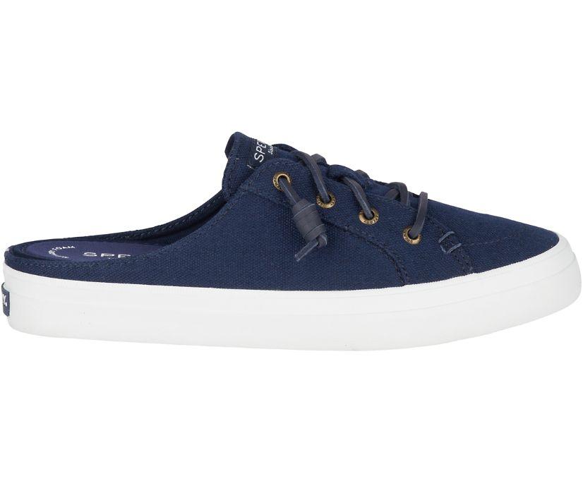 Crest Mule Sneaker, Navy, dynamic