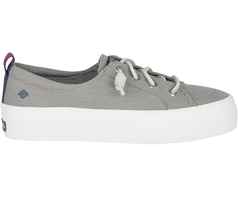 Crest Triple Sneaker, Grey, dynamic