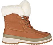 Maritime Winter Leather Snow Boot, Tan, dynamic
