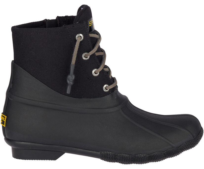 Saltwater Rubber Dip Duck Boot, Black, dynamic