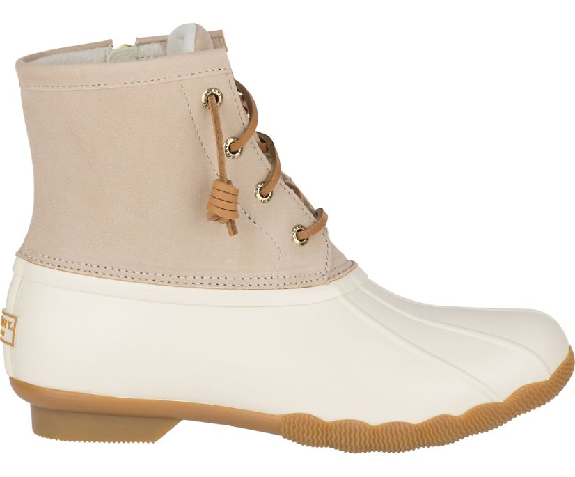 Saltwater Duck Boot, Ivory, dynamic