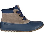 Breakwater Suede Duck Boot, Navy/Grey, dynamic