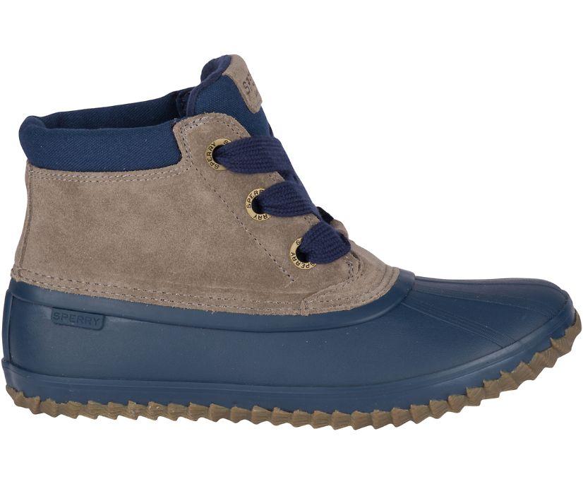 Breakwater Suede Duck Boot, Navy/Grey, dynamic