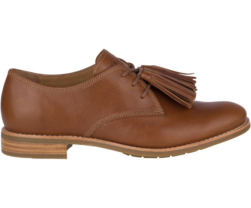 Fairpoint Tassel Leather Oxford, Tan, dynamic