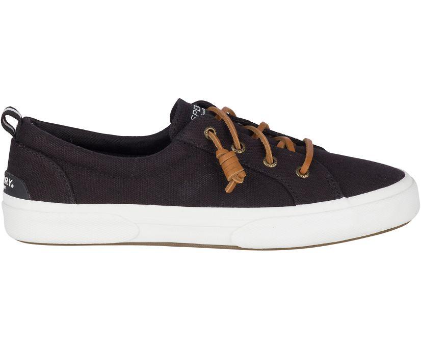 Pier Wave Canvas Sneaker, Black, dynamic