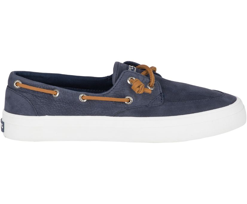 Crest Boat Barrel Tie Washable Sneaker, Navy, dynamic