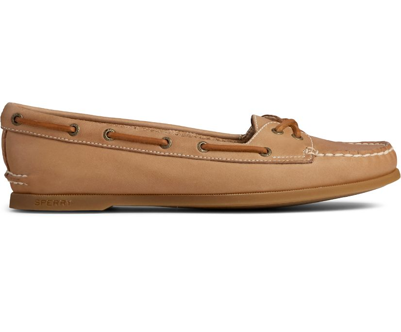 Authentic Original Skimmer Boat Shoe, Sahara, dynamic
