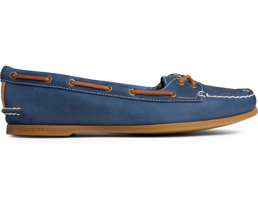 Authentic Original Skimmer Boat Shoe, Navy, dynamic