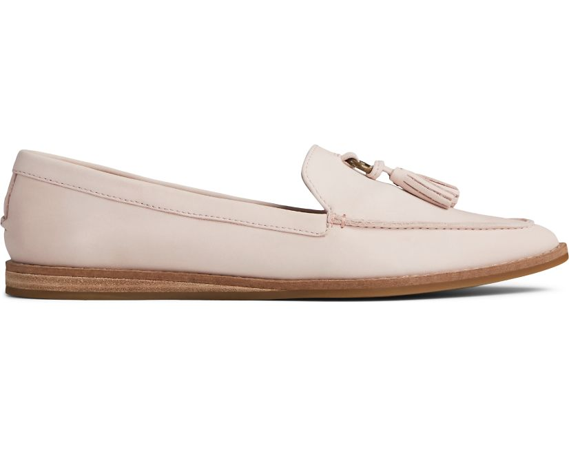 Saybrook Slip On Leather Loafer, Rose Dust, dynamic