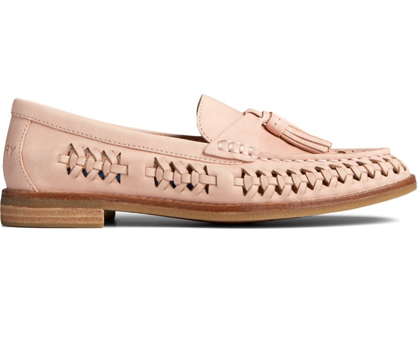 Seaport PLUSHWAVE Woven Loafer, Rose Dust, dynamic