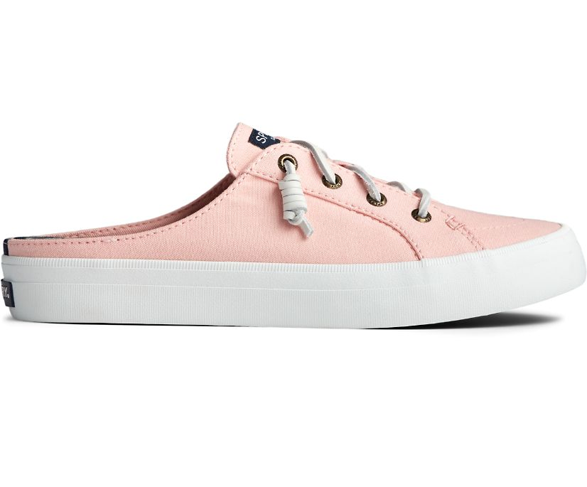 Crest Vibe Chambray Mule Sneaker, Pink, dynamic